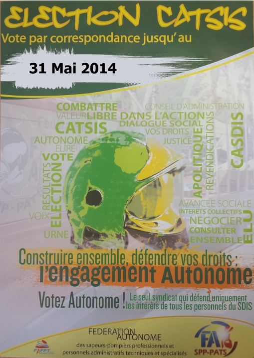 AFFICHE ELECTIONS CATSIS